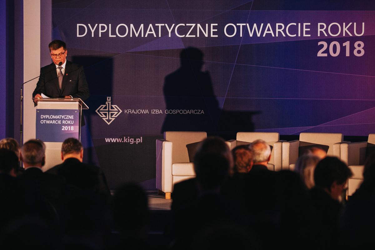 Dyplomatyczne otwarcie roku