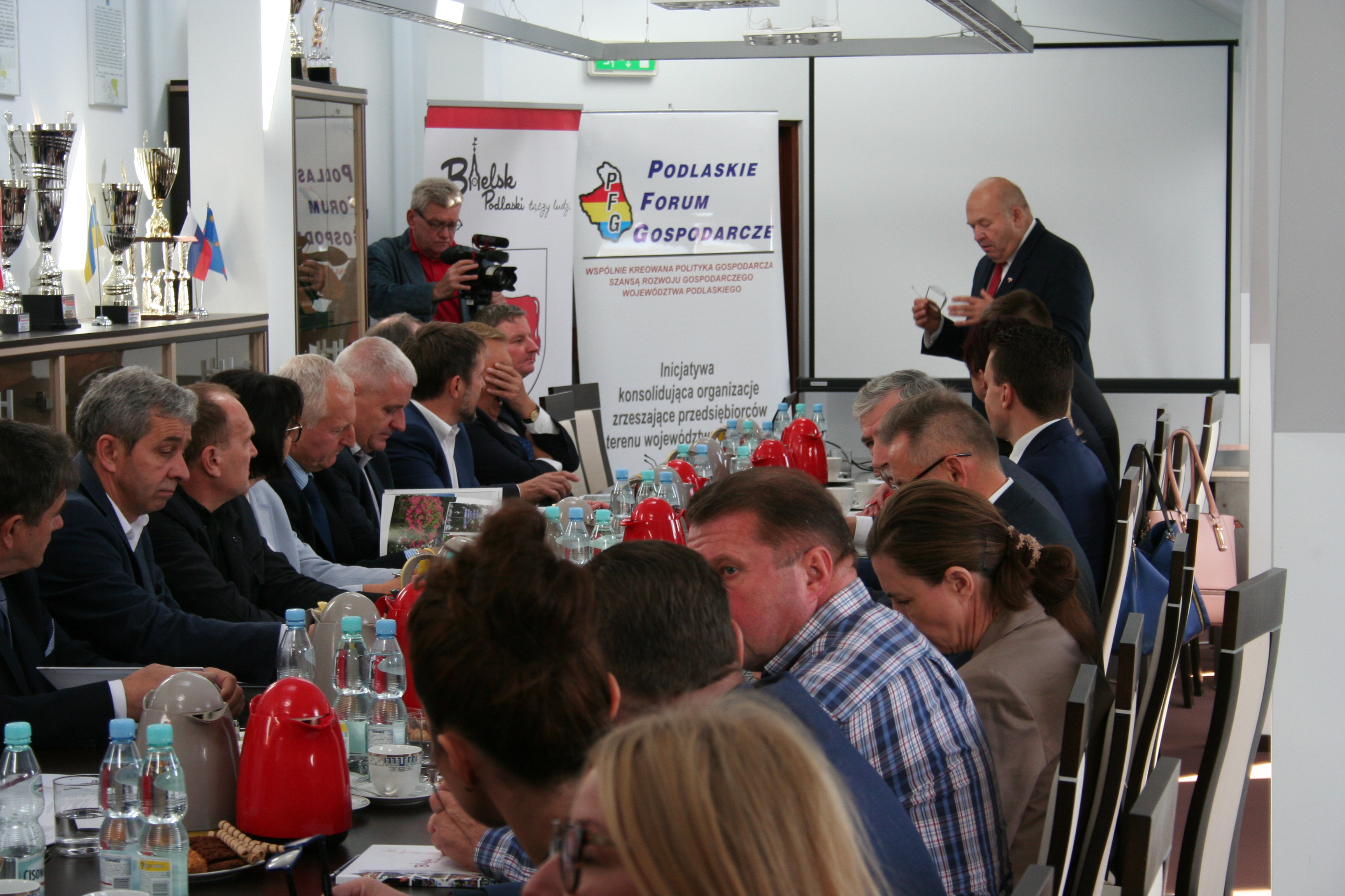 Wyjazdowe posiedzenie Podlaskiego Forum Gospodarczego w Bielsku Podlaskim w dn. 26.09.2018 – fotorelacja